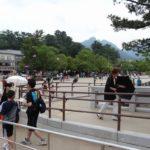 宮島(桟橋~厳島神社の大鳥居)