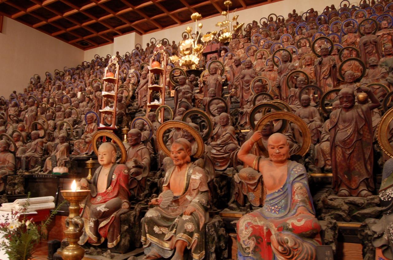 天寧寺五百羅漢像
