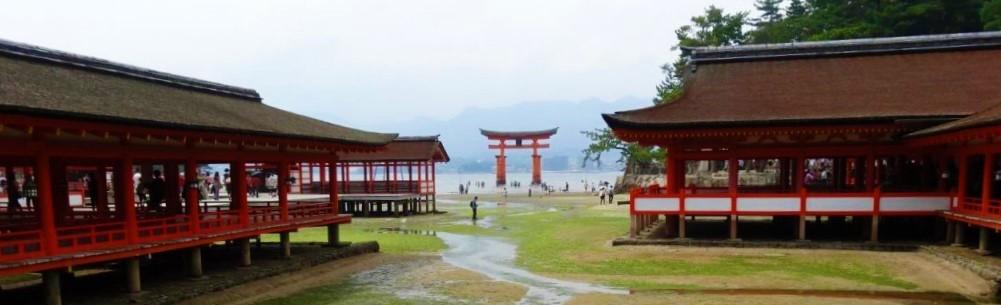 広島観光名所の厳島神社