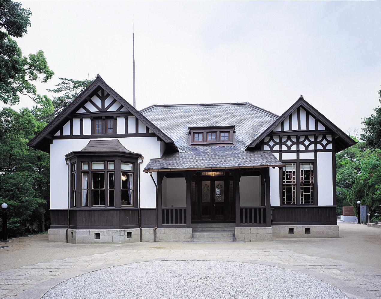 入船山記念館長官官舎