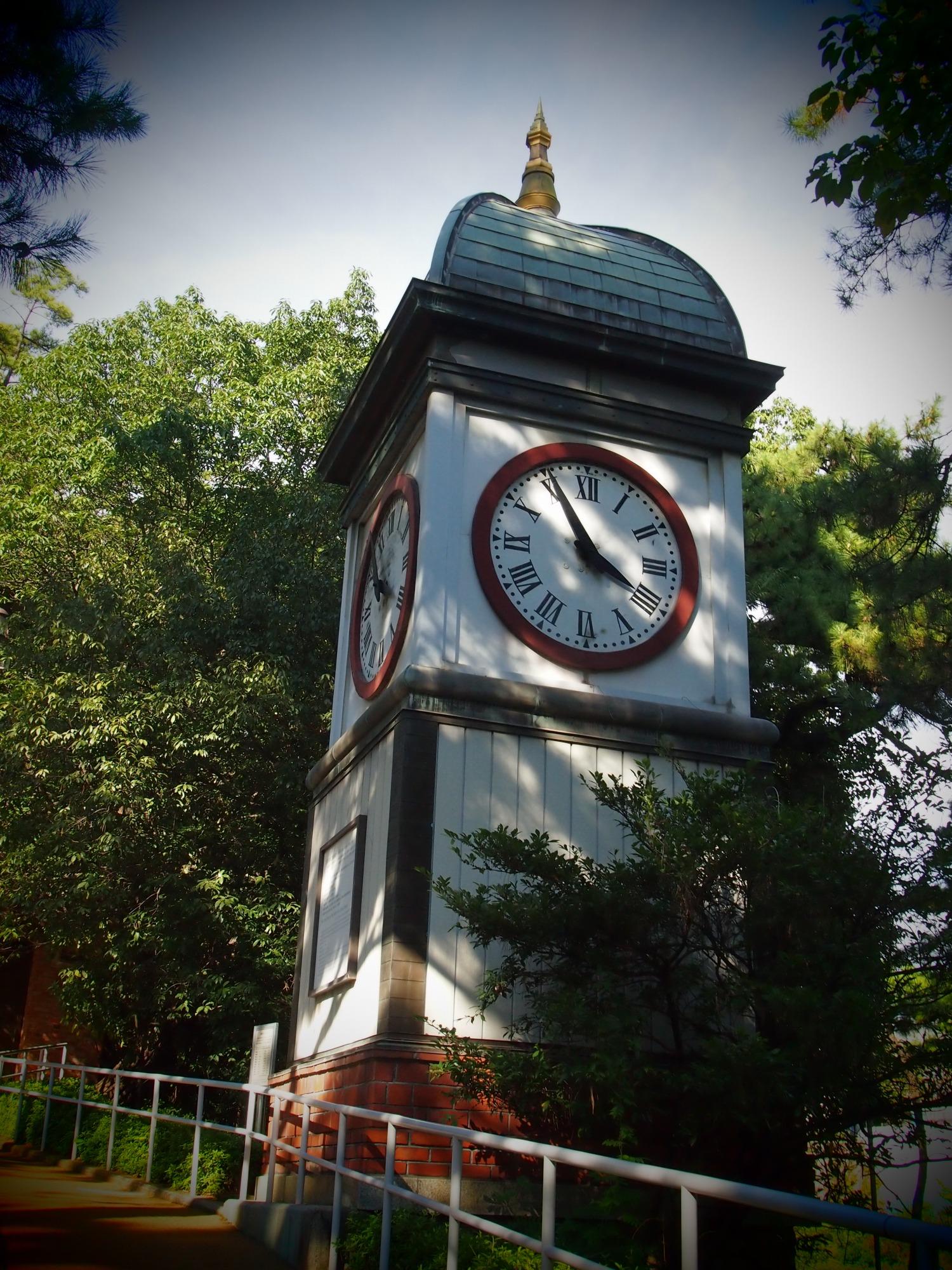 入船山記念館 台時計